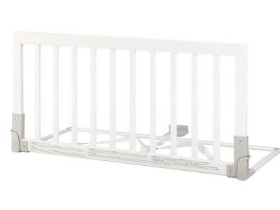 Baby Dan Wooden Bed Guard, White, Used but in good condition