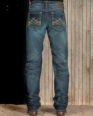 57ee3b15 Ariat Men's M5 Slim Fit Straight Leg Lower Rise Boot Cut Jeans Style  #10016214
