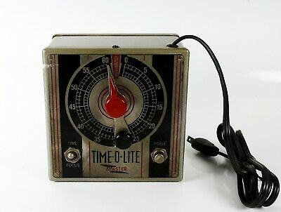 TIME-O-LITE MASTER model M-49 750 watts / Industrial Timer Corp. / darkroom