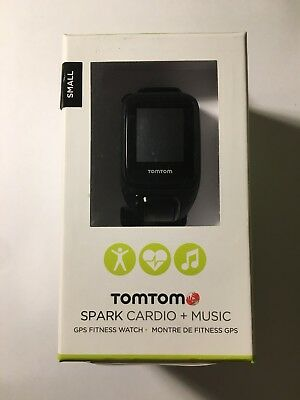 TomTom GPS Fitness Watch - Spark Cardio + Music (Black) (Small)