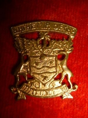 """Indian Army """"The Mir of Kairpur"""" State Forces WW1 Head-Dress Cap Badge"""