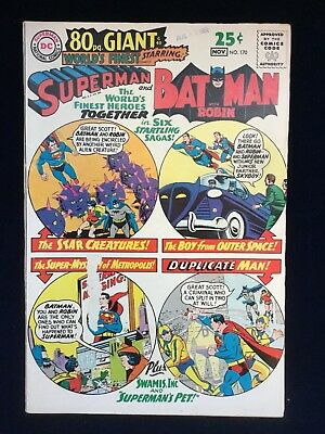 World's Finest Comics #170 (Oct 1967, DC) 80 PAGE GIANT!