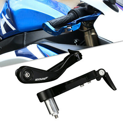 """7/8"""" 22mm Handlebar Brake Clutch Levers Guard Protector Motorcycle 13mm 18mm"""