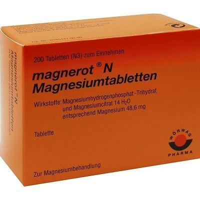magnerot N magnesiumtabletten 200 Pieza pzn6963366
