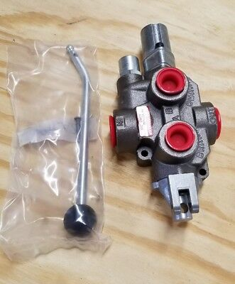 Brand Hydraulics Directional Control Valve Single Spool 4 way 3 position - NIB
