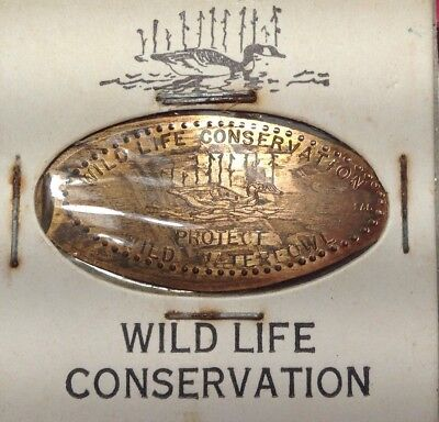 Wildlife Conservation -Protect Wild Waterfowl -on A 1959 Lincoln Cent--EA5