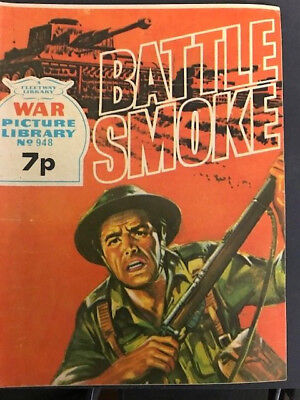 WAR PICTURE LIBRARY, No 948, BATTLE SMOKE, 1974