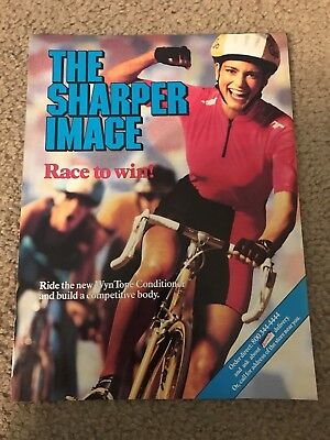 1989 THE SHARPER IMAGE Catalog Ad SHARP WIZARD POCKET COMPUTER TAG HEUER WATCH