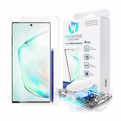 3D Curved Dome Glass Full Screen Protector by Whitestone (Genuine Products)