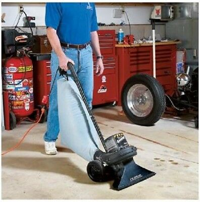 Commercial Vacuum Cleaner Industrial Upright Outdoor Workshop Garage W 50' Cord