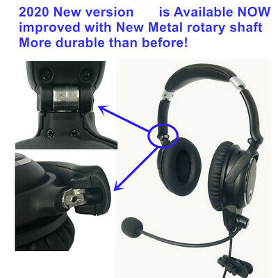UFQ A7 ANR aviation headset- SMALL Boss A-20  BUT the same ANR level function