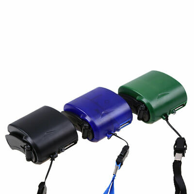 USB Portable Hand Crank Self Powered Emergency Charger Manual Dynamo Photo 5.5V