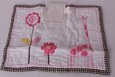 NWT Pottery Barn Kids Ava Giraffe nursery small sham crib