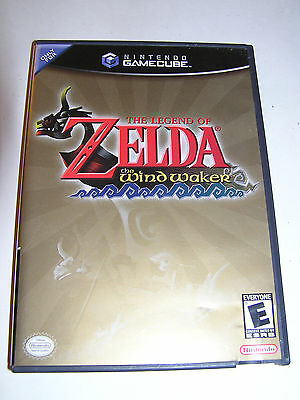 The Legend of Zelda The Wind Waker video game for Nintendo GameCube complete