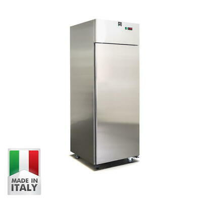 New Upright Commercial Freezer 700 Liters 304 Stainless Steel Made In Italy