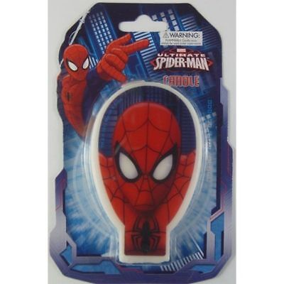 Marvel Spiderman Candle Party Supplies