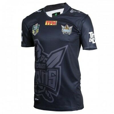 Gold Coast Titans 2018 NRL Mens Warm Up Jersey Shirt BNWT Rugby League Clothing