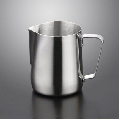 Kitchen Expresso Stainless Steel Craft Coffee Milk Latte Jug Frothing 150-1000ML