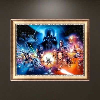 DIY 5D Diamond The Film Painting Embroidery Cross Crafts Stitch Kit Home Decor