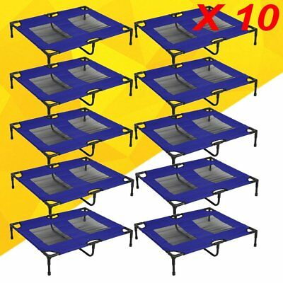 """XLarge 36"""" Dog Pet Cat Elevated Raised Bed Puppy Cot Oxford Outdoor Indoor for2"""