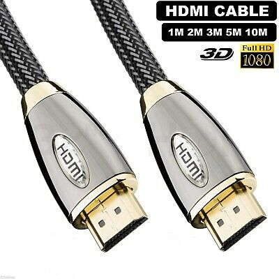 PREMIUM UltraHD HDMI Cable v1.4 0.5M/1M/1.5M/2M-10M High Speed 2160p 3D Lead