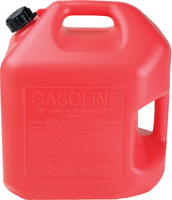 5 Gallon Red Gas Can (2 Per Pack) - Midwest P#5600