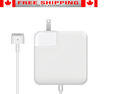 Macbook Air Charger, Ac 45w Magsafe2 Power Adapter Charger 13 inch  by Nuoo NEW