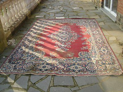 Beau grand tapis kirman vers 1900