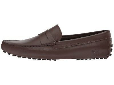 342bb65a2d5b MEN S SHOES LACOSTE Concours 118 Leather Loafer CAM011811I BROWN ...