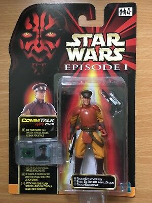 Star Wars Episode 1 Naboo Royal Security Hasbro 1999