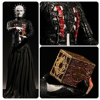 "Hellraiser III ~ PINHEAD  ~ 12"" Vinyl Action Figure  by Mezco Toyz  2016"
