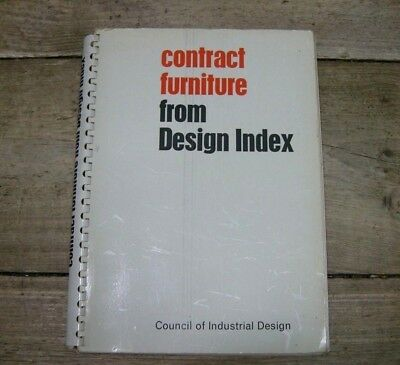Contract Furniture from Design Index 1964 catalogue Council of Industrial Design