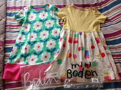 Boden mini Boden pair of beautiful girls dresses age 6-7 brand new