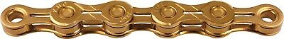 New KMC X10-EL 10 Speed MTB Road Bicycle Chain Gold 116L With CL559R-Ti Link