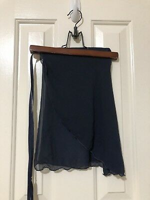 navy blue dance skirt cover up
