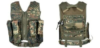 New Legion Tactical Weste Carrier flecktarn