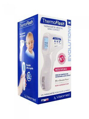 VISIOMED ThermoFlash Contactless Thermometer Digital EVOLUTION LX-26 WHITE