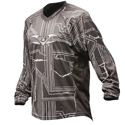 Valken Crusade Paintball Jersey Tron grey