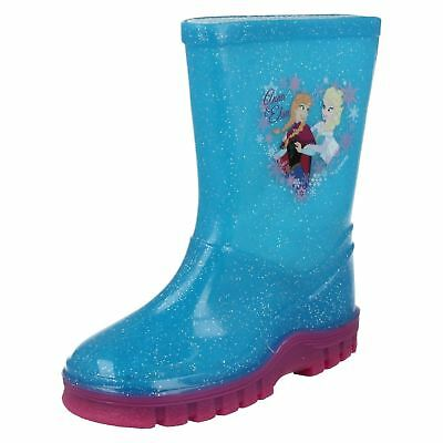 Girls Disney Frozen Wellingtons 'Anna and Elsa'