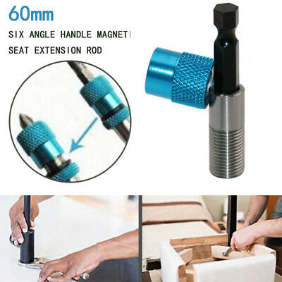 Hex Shank Drywall Magnetic Connection Post Holder Extension Bar Drill Bit