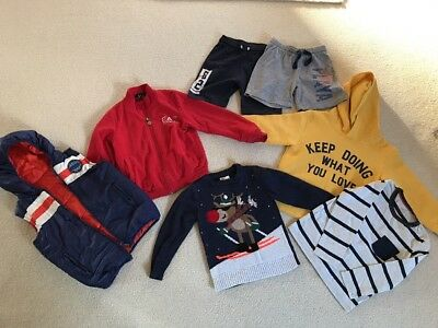 Quality Boys Bundle With Christmas Jumper Next, Zara, H&M ,3Pommes Age 4-6