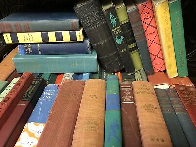 Lot of 10 mix BOOKS unsorted Collectible Vintage Old Antique