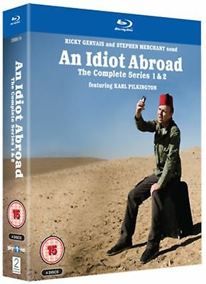 An Idiot Abroad: Series 1 and 2 [Blu-ray]