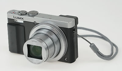 Panasonic LUMIX DMC-ZS50 30X Travel Zoom Camera with Eye Viewfinder - Silver