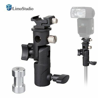 LimoStudio Flash Bracket Multi Functional 4 1/4-inch Tall Including Umbrella Hot