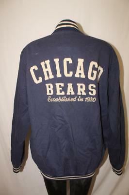 Authentic Chicago Bears Mens Large football Jacket ESTABLISHED IN 1920 rare