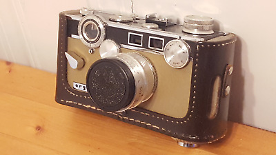 """Argus C3 Matchmatic """"The Brick"""" Camera with 50mm f/3.5 - Green - Almost Perfect"""