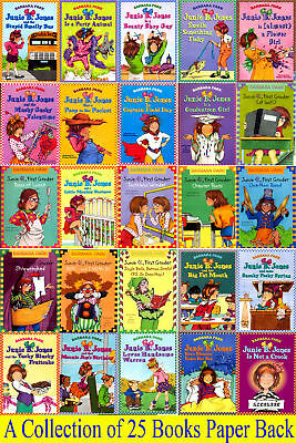Junie B Jones 25 Brand New Books Series Set Lot Collection (PBs) by Barbara Park
