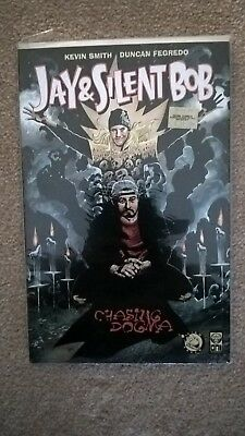 Chasing Dogma Kevin Smith alternate cover numbered graphic novel