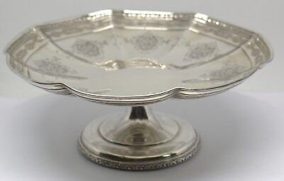Towle Louis Xiv Pattern # 5778 Sterling Silver Short Compote  #88811-12 Dbw